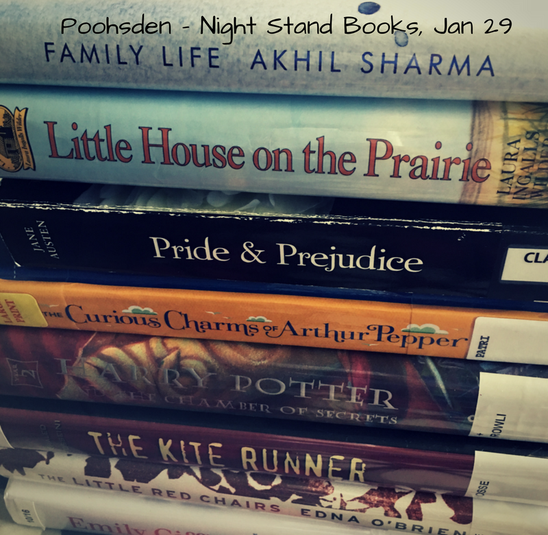 Night Stand Book Collection