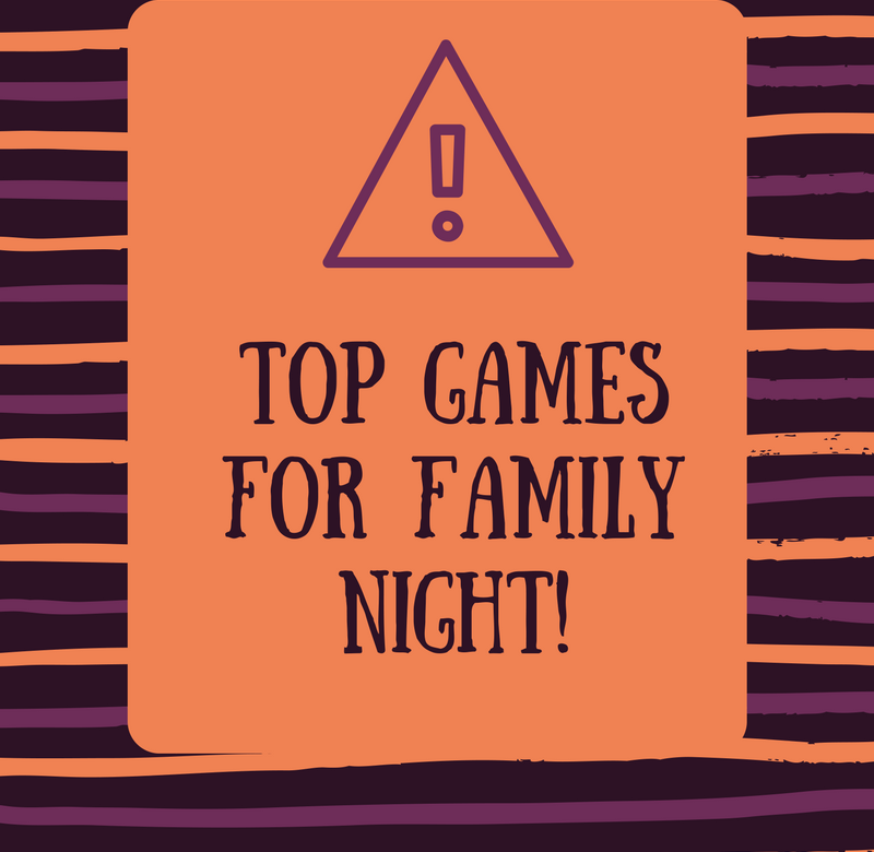 Top Games for Family Night